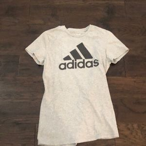 ADIDAS go to tee with logo on front